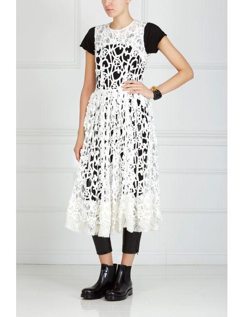 Comme Des Garcons | Женское Белое Хлопковое Платье