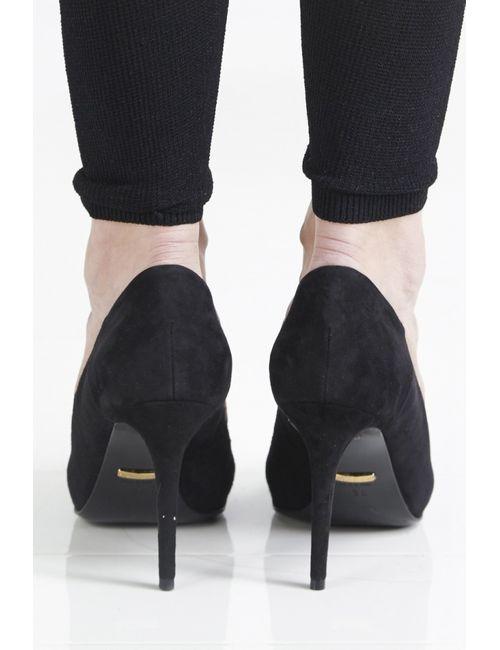 Gucci | Женские Чёрные Кожаные Туфли