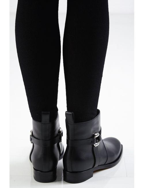 Gucci | Женские Чёрные Ботинки