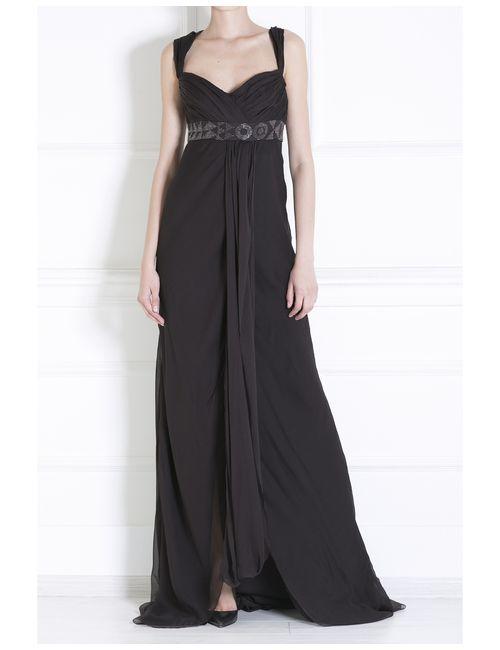 J. Mendel | Женское Черный Шелковое Платье