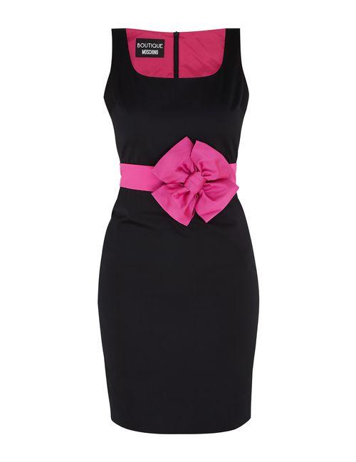 BOUTIQUE MOSCHINO | Женское Розовое Платье-Футляр