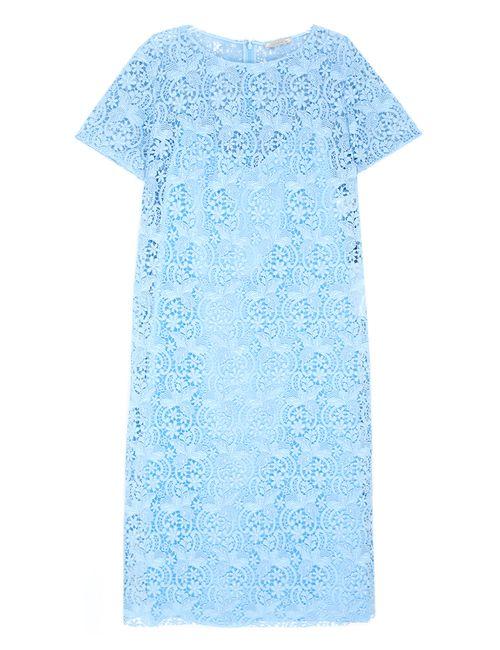 Nina Ricci | Женское Голубое Хлопковое Платье