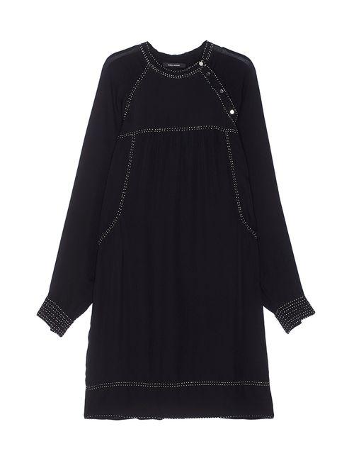 Isabel Marant | Женское Чёрное Шелковое Платье