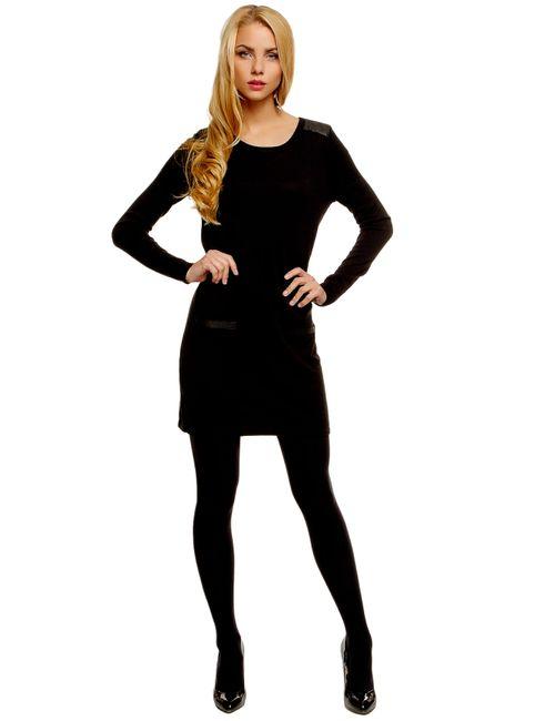 TOM TAILOR | Женское Чёрное Платье