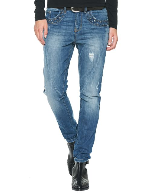 TOM TAILOR | Женские Джинсы Relaxed Tapered 620271100701055