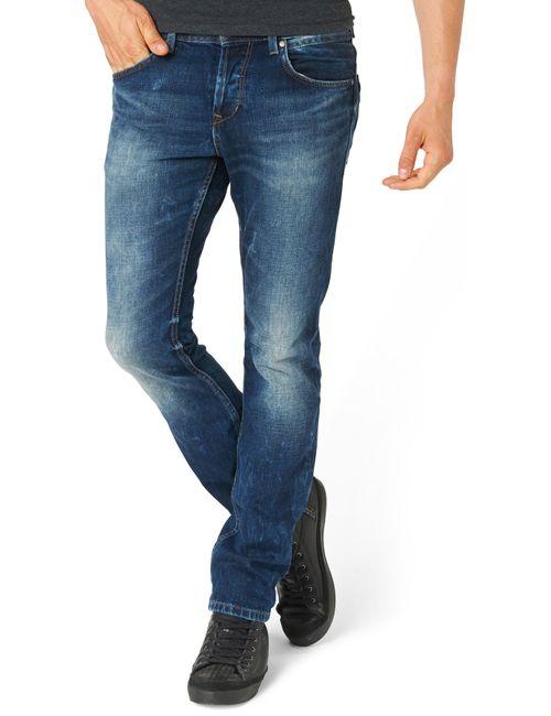 Tom Tailor Denim | Мужские Серые Джинсы Aedan Slim 620352800121052