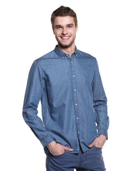 Denim | Мужская Льняная Рубашка 203144000126300