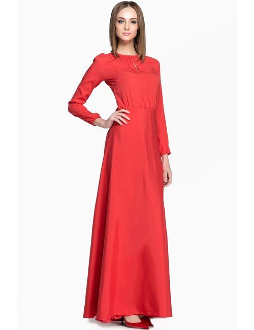 Laroom | Женское Красное Платье Basic-21/1