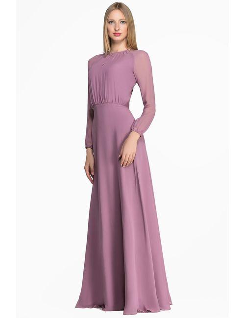 Laroom | Женское Розовое Платье Basic-21/1