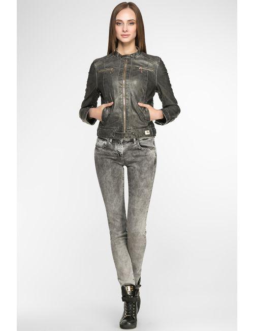 Gj Gaudi' Jeans | Женская Серая Куртка 53bd34286