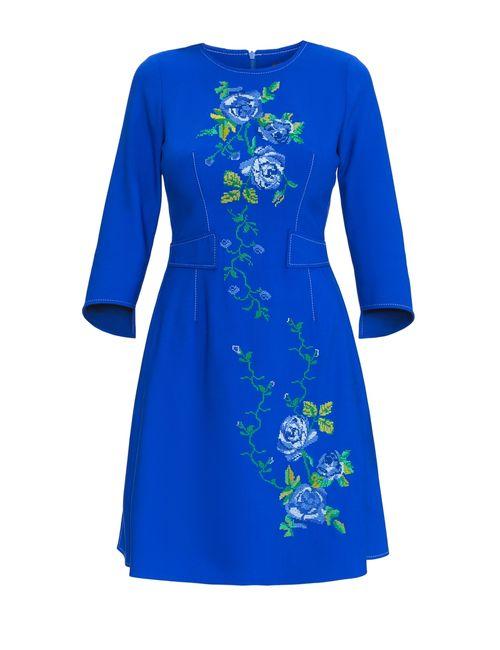 Julia Urban | Женское Синее Платье Dwj1565