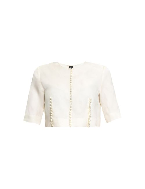 Lilas By Ekaterina Kormich | Женская Бежевая Блуза Мод 115