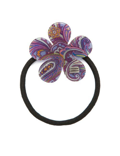 Etro | Женская Фиолетовая Резинка Для Волос Sf-149897