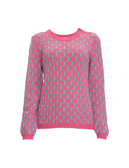 Sweet Sweaters | Женский Розовый Джемпер 1504