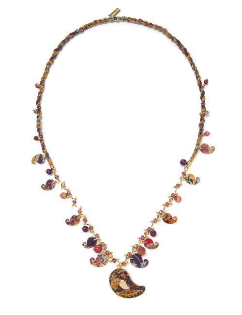 Etro | Женское Коричневое Ожерелье Sf-59015