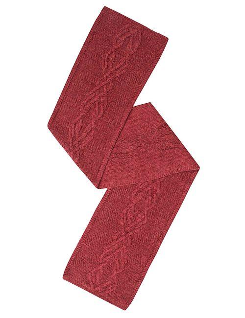 Sweet Sweaters | Женский Красный Шарф 1104/1