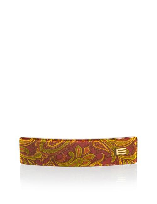 Etro | Женская Оранжевая Заколка-Автомат Sf-03040
