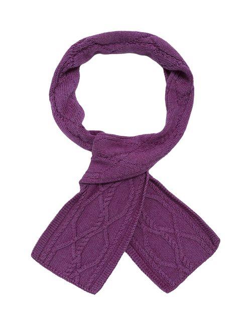 Sweet Sweaters | Женский Фиолетовый Шарф 1202