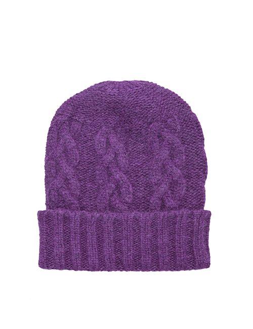 Sweet Sweaters | Женская Фиолетовая Шапка 1106