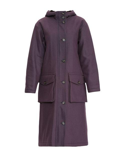 Cyrille Gassiline | Женское Фиолетовое Пальто 75.65.0640