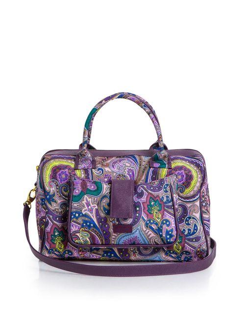 Etro | Женская Фиолетовая Сумка С Ремнем Sf-149911