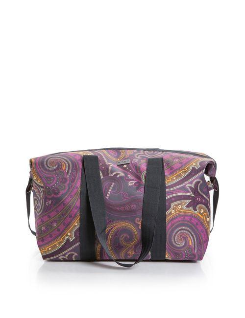 Etro | Женская Фиолетовая Сумка С Косметичкой Sf-04016