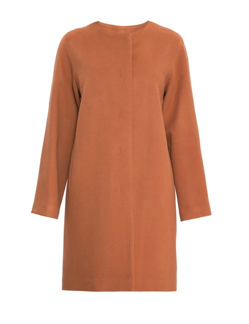 Immagi | Женское Оранжевое Кашемировое Пальто Р 58260