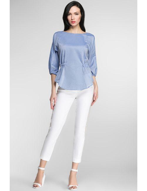 Julia Seregina Smart Knits | Женская Синяя Блуза Ss15.9.18