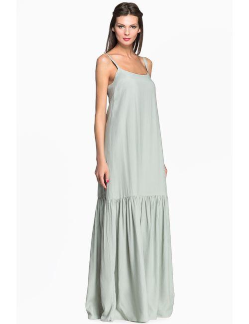 Pallari | Женское Зелёное Платье 4121-7dr