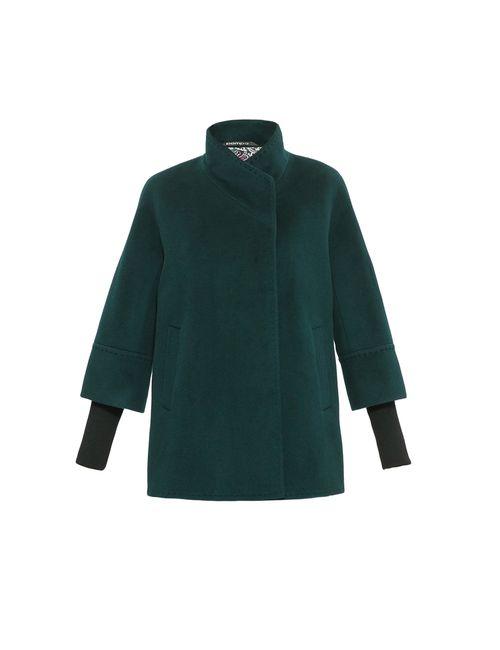 Pompa | Женское Зелёное Полупальто 149794
