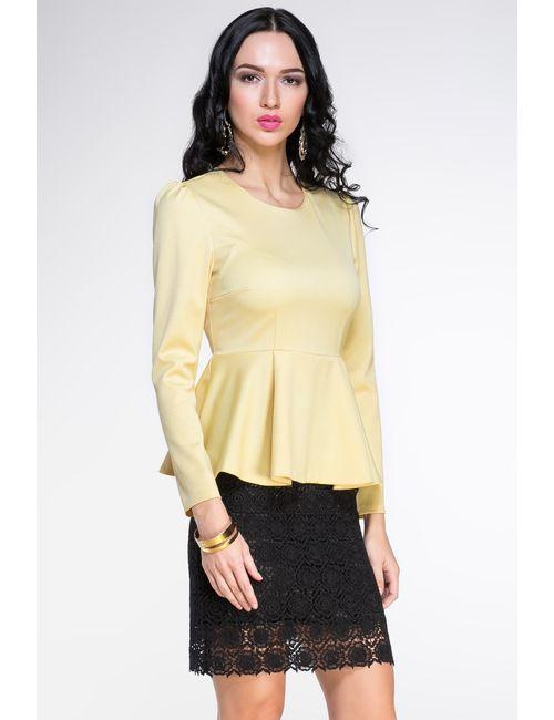 Villa Turgenev | Женская Жёлтая Блуза 136801
