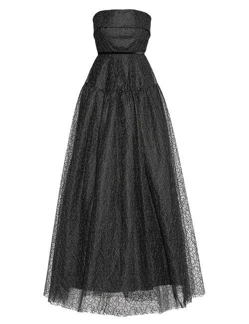 ALEX PERRY | Женское Чёрное Кружевное Платье 173819