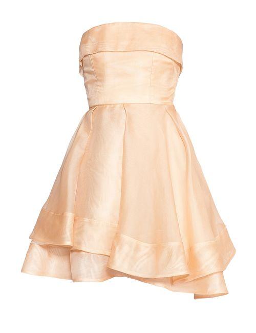 ALEX PERRY | Женское Бежевое Платье Из Шелка 173820