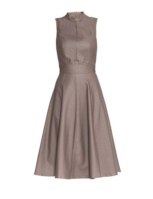 MET   Женское Коричневое Платье 174057