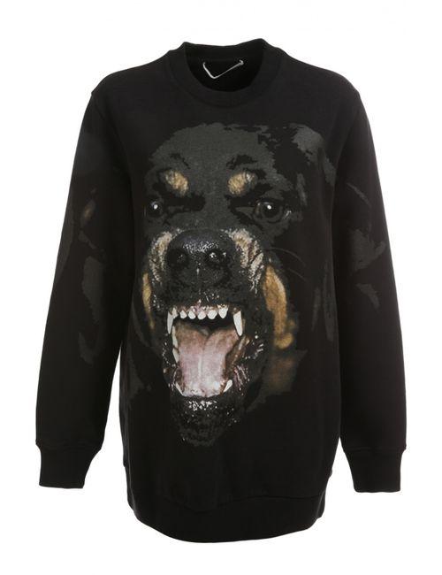 Givenchy | Женский Чёрный Пуловер