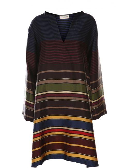 Dries Van Noten | Женское Многоцветное Платье