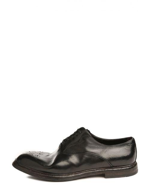 Dolce & Gabbana | Мужские Бордовые Туфли
