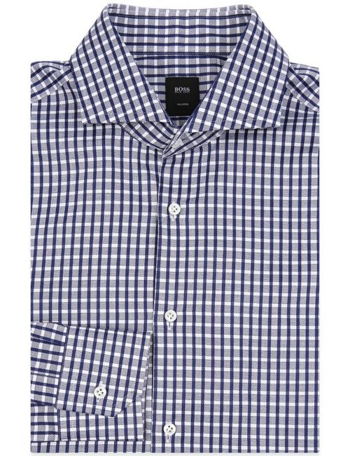 HUGO BOSS Tailored | Мужская Синяя Сорочка