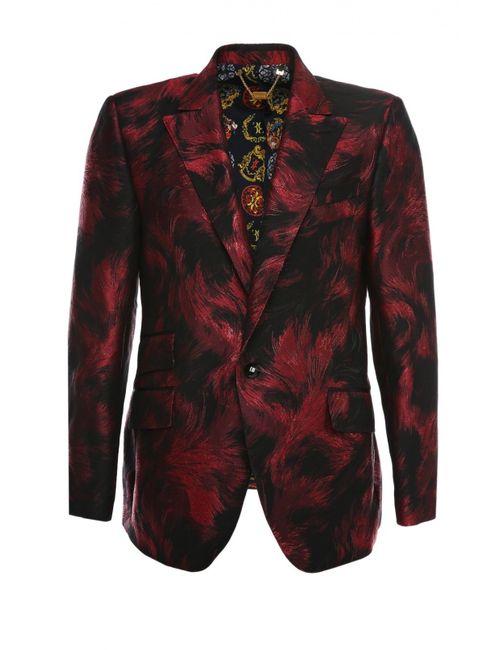 Billionaire | Мужской Красный Пиджак