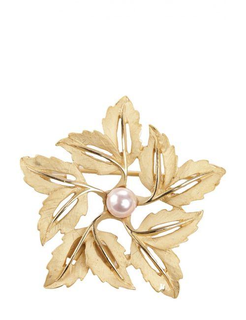 Dolce & Gabbana | Женская Золотая Брошь