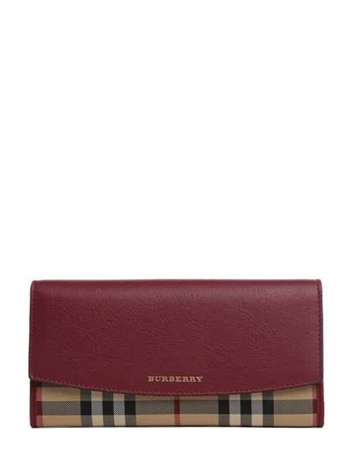 Burberry | Женское Фиолетовое Портмоне