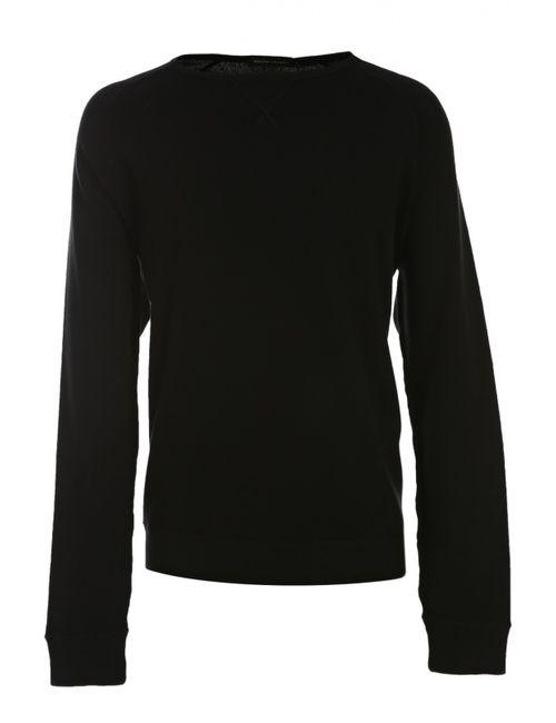 Ralph Lauren | Мужской Чёрный Пуловер Джерси