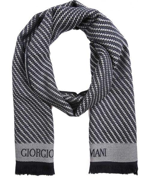 Giorgio Armani | Мужской Синий Шарф
