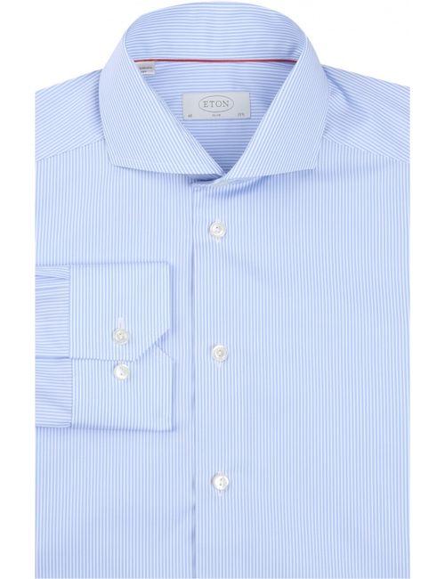 Eton | Мужская Голуба Сорочка