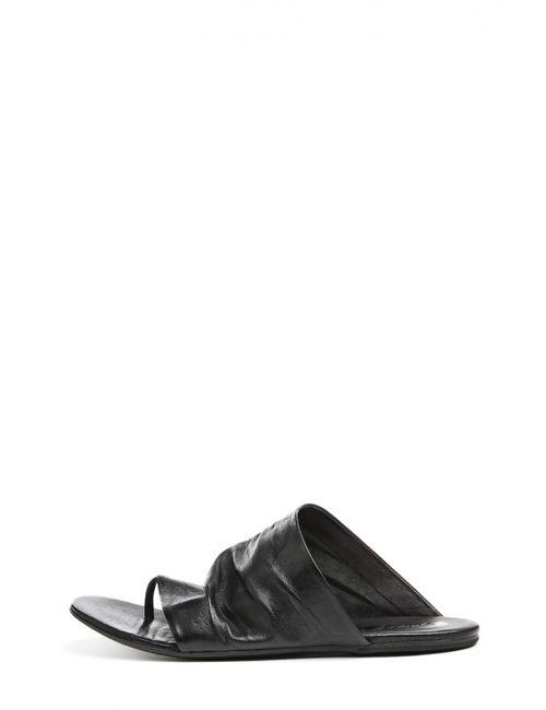 Marsell | Женское Чёрное Сабо