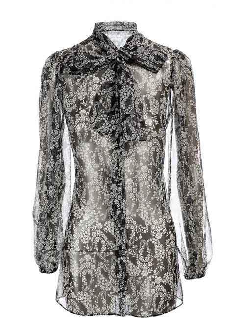 Dolce & Gabbana | Женская Белая Блуза Dolcegabbana