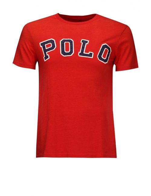 Polo Ralph Lauren   Мужская Красная Футболка Джерси
