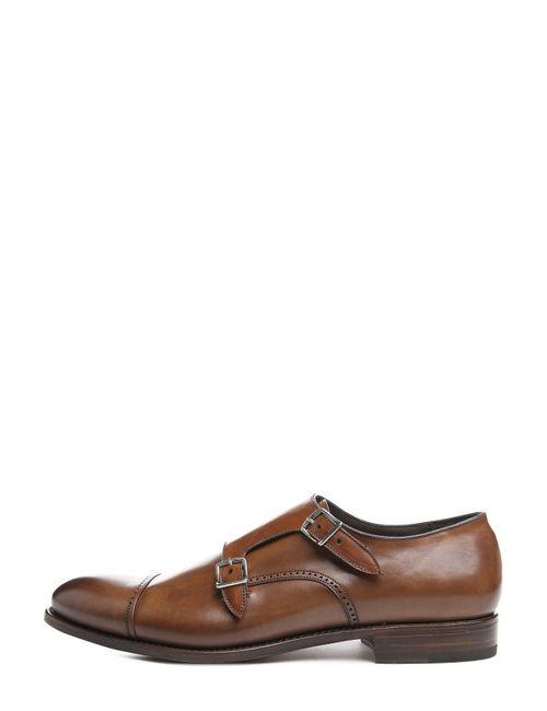 W.Gibbs   Мужские Коричневые Туфли