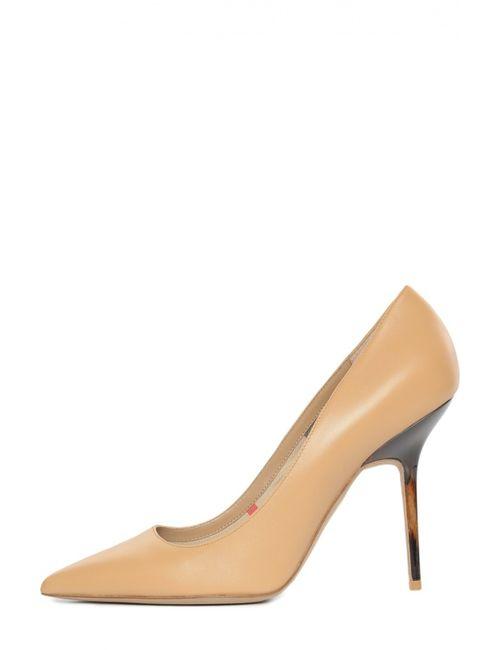 Burberry | Женские Бежевые Туфли