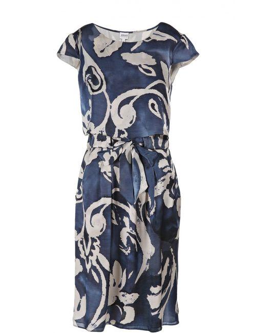 Armani Collezioni | Женское Синее Платье